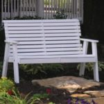 Amish Made Plain Outdoor Benches