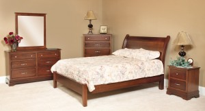 Homespun Amish Bedroom Set