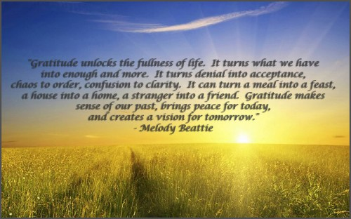 Gratitude - Melody Beattie