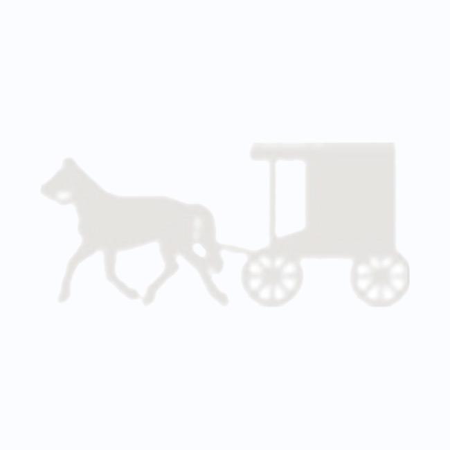 Amish Made Kid's White Rocker